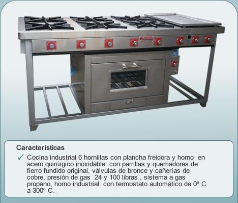 Dracom venta de cocinas y hornos for Venta de cocinas